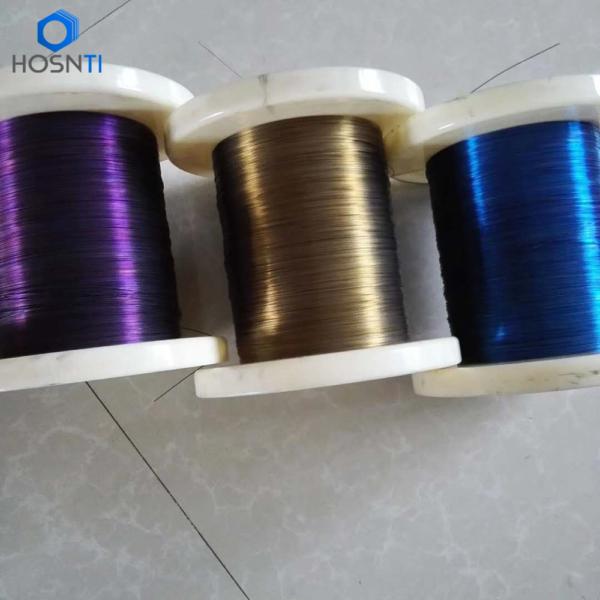 Colored Nitinol Wires Nickel Titanium Alloy – Baoji HOSN ...