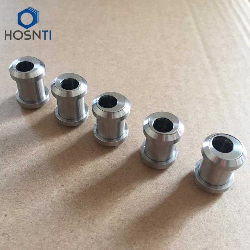 TITANIUM OFFSET Rear Shock Mount Hardware Ti Mounting Bushings kit Proshox